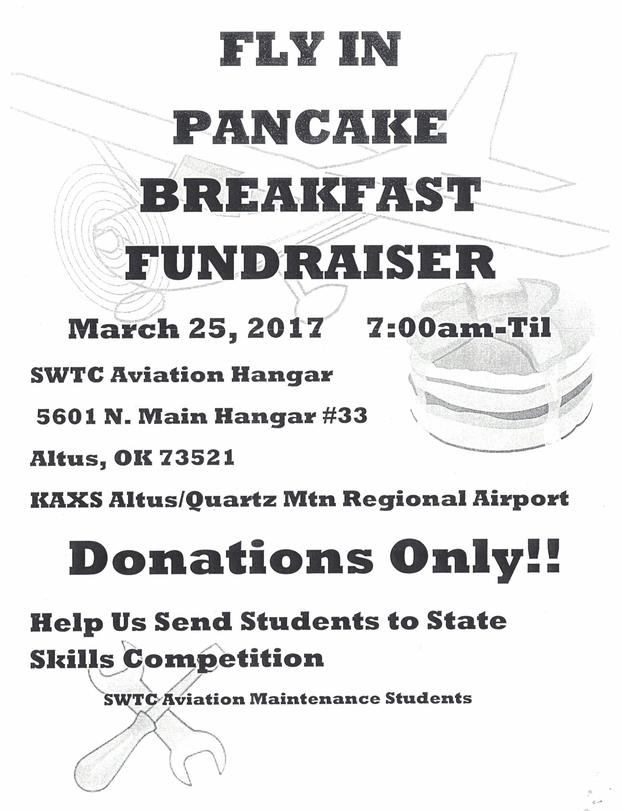 Pancake Breakfast 3-25-2017