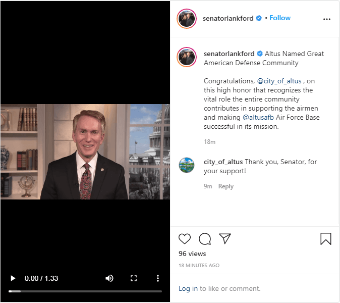 Sen James Lankford